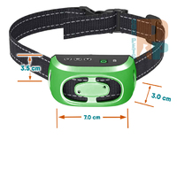 Dog Bark Control Collar with Soft Rubber Contact Posts