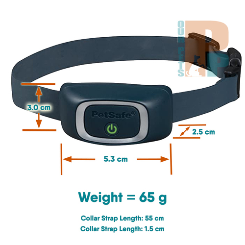 PetSafe Lite Rechargeable Bark Collar for Small Dogs